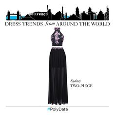 """PolyData: Sydney's Most Popular Dress Trend"" by polyvore ❤ liked on Polyvore featuring Mode, Fame & Partners und polydata"
