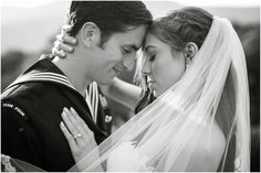 Heather Chipps Photography - Virginia Photographers - Black and white bride and groom photography