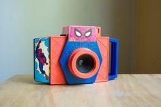 Toy Camera, Marvel Spiderman Vanity Fair Camera