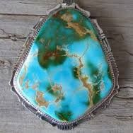 Image result for large green turquoise ring