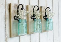 Chic Country Farmhouse Wall by cottagehomedecor on Etsy Farmhouse Wall Sconces, Rustic Farmhouse Decor, Rustic Chic, Country Farmhouse, Farmhouse Ideas, Farmhouse Chic, Country Living, Country Decor, French Country