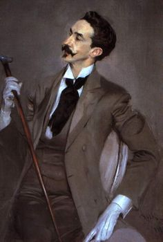 Boldini's Belle Epoque portrait of the decadent Robert de Montesquieu, inspiration for Proust's Baron Charlus.