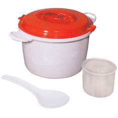Microwave Rice Cooker - Pots and Pans - MaxiAids