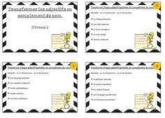 Ateliers sur le complément du nom - La classe de Cécile Cycle 3, Teaching, Math, Tips, Reading Strategies, Readers Workshop, Primary Education, Elementary Schools, School
