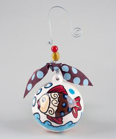 Take a look at this Fish Ball Ornament by Glory Haus on #zulily today!