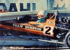 Kyalami, Clubhouse corner, August 7, 71 John Love, Surtees TS9.