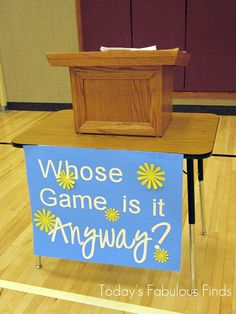 Today's Fabulous Finds: Whose Game Is It Anyway? (Group Game Idea)
