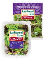 Brighten up any salad with Earthbound Farm's selection of fresh organic salad and greens mixes. Spring Mix, Red Leaves, Baby Spinach, Some Recipe, Product Label, Organic Baby, Salads, Veggies, Salad