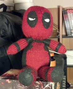 Deadpool Knitting Pattern : 1000+ images about Knitted Amigurumi on Pinterest Pattern library, Ravelry ...