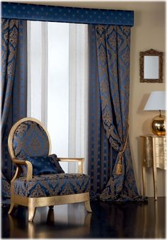 Chair/drapes More