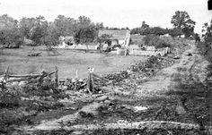 The Leister Farm at Gettysburg, 1863 [Gen. George Meade's HQ]