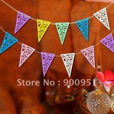 paper pennants & bunting advertising US $60.00