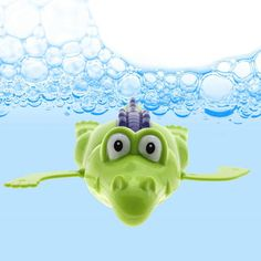 Wind-up Baby Toy Bath Swimming Toy Crocodile Wind-up Toy Baby Bath Clockwork Dabbling for Kids Can Swimming Crocodile Cute Gift
