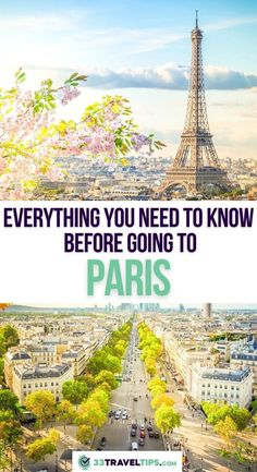 Everything You Need to Know Before Going to Paris. Exploring the vibrant cities with spectacular art museums and historical monuments as an independent traveler. From the best way to connect with locals to the coolest way to cruise the city's attractions, and from the money-saving tips to the best neighborhoods to stay in, here is our tried-and-tested advice. Here's our guide with 44 Paris travel tips that will help you enjoy the City of Lights to the fullest. #paris #europe #travel