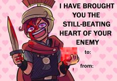 I'm going to give someone this on next Valentine. No one can stop me.
