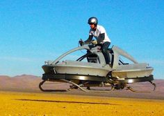 California-based tech company Aerofex has released a video of it new bike, whichflies over the ground thanks to two large fans. Test flights so far have been limited to 30 mph, sowhile it might not be ready for a high-speed chase through the forest, it still makes me this of Luke and Leia on a hover craft race in Star Wars on Endor.