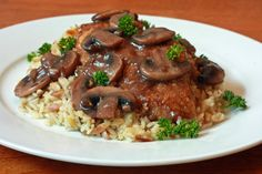 A healthy turkey marsala dish, that is mammal free and safe for those with Alpha-Gal to consume