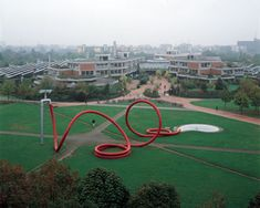 I love Claes Oldenburg's scupltures - ordinary objects on a giant scale