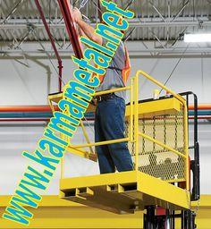 Fabrikaların,alışveriş merkezlerinin,spor komplekslerinin duvarında,tavanında veya herhangi yüksek yerlerinde boya yapma,lamba değişimi,elektrik tamiri,çatı onarımı,boru tesisatı tamiri,temizlik vb.. durumlarda forklift iş makinenizi bakım platformu olarak kullanabilirsiniz