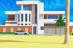 View the full picture gallery of Projet De Construction D'une Villa A Ouagadougou Au Burkina-Faso African House, House Outside Design, Villa, Amazon Beauty Products, Entrance, Multi Story Building, Mansions, House Styles, Pictures