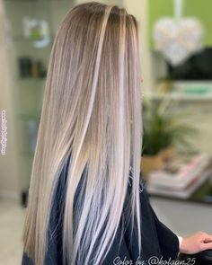 Amazing Blond Balayage Hair Colors For Long Hair In 2019 Page 14 of 16 Dazhi Erstaunlich Blond Balay Blonde Hair Looks, Dyed Blonde Hair, Balayage Hair Blonde, Brown Blonde Hair, Hair Dye, Lace Hair, Pastel Hair, Hair Highlights, Hair Inspiration