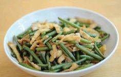 Green beans & tofu skin