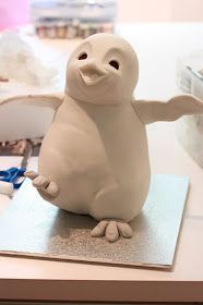 Clay penguin how to