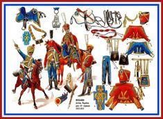 French Hussars (Jerome napoleon) Then the 13th regiment 1813-1814