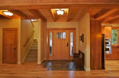 craftsman homes, interior | Contemporary Craftsman: Updating Arts Crafts Architecture And Design