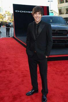 Austin Mahone #AMAs - Red Carpet Fashion at the American Music Awards #AMA2013