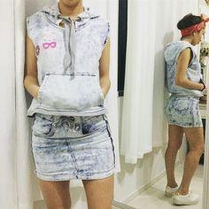 #ziann #saia+colete  #lookoftheDay