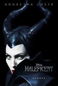 'Maleficent' starring Angelina Jolie - not exactly Haute Couture, but this woman can ROCK any look!