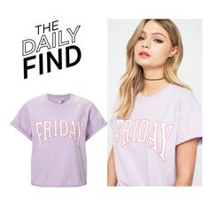 """The Daily Find: Miss Selfridge T-shirt"" by polyvore-editorial ❤ liked on Polyvore featuring Miss Selfridge and DailyFind"