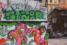 olympus voyage extraordinaire street art croix rousse lyon
