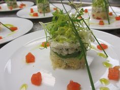 Crab Timbale by Hamby Catering & Events