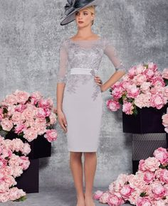 2017 Elegant Mother Of The Bride Outfit Lace Formal Dress Evening Prom Gown