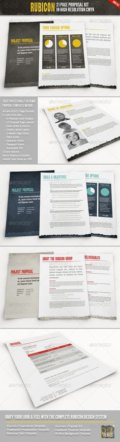 NeoMan Business/Project Proposal - Proposals  Invoice Template