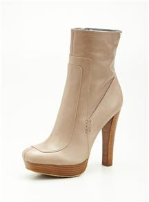 Calvin Klein Brenna Mink Mid Shaft Boot