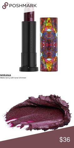 Host Pick! •NWT• Urban Decay Mirana Lipstick Brand new, still sealed in the packaging. Highly recommend! Very unique, matter berry tone with a hint of shimmer - without looking shiny. Get that fall lip in your life! Urban Decay Makeup Lipstick