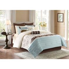 vince camuto home provence comforter sets - bedding collections