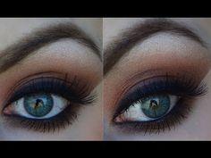 Garnet Eyes   Lorac Pro Palette Tutorial #garnet #lorac #loracpropalette