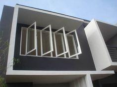 ✓ Minimalist Window Design Ideas for Your House [Images] Minimalist Window, Minimalist Home Decor, Minimalist House, Exterior Paint Colors For House, Paint Colors For Home, Garden Architecture, Architecture Plan, House Window Design, House Design