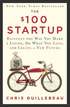 """The Hundred Dollar Start Up Book is the resource you need to help you """"find your best destiny. Many of us may find ourselves in a new occupational situation in so we need to prepare. This book has many ideas. Start Ups, Ideas Emprendedoras, Gift Ideas, Lean Startup, Affiliate Marketing, Facebook Marketing, Business Model, Up Book, Book Nerd"""