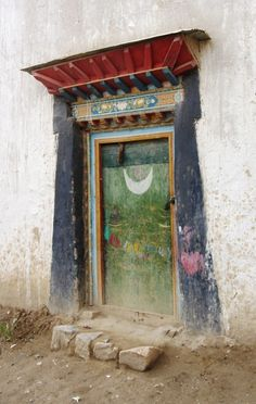 "wildmuse: ""(via My_Doors_Windows_Details / Tibet) """