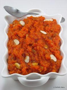 Garjar Halwa - Saffron and Cardamom Carrot Pudding