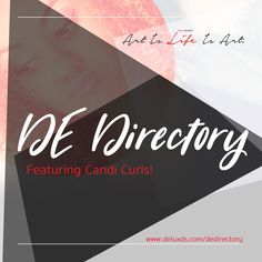 We would like to send a big, warm welcome to Candi Curls for joining our new DE Directory page! Candi Curls is a natural hair site that caters to providing more information on natural hair care, al… Natural Hair Care, Natural Hair Styles, Curls, Life, Natural Care For Hair, Natural Hair Art