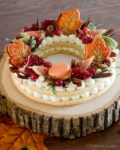 Trendy cream tart cake for fall Bakery Recipes, Tart Recipes, Cake Lettering, Fall Cookies, Number Cakes, Specialty Cakes, Pastry Cake, Sweet Tarts, Cookies And Cream