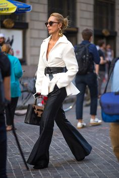 NYC STYLE: FASHION WEEK FROM THE STREET: Harper's BAZAAR waysify