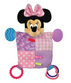 Kids Preferred Disney Baby Minnie Mouse Flat Blanky Teether for sale online Bb Reborn, Reborn Toddler, Teething Relief, Activity Toys, Baby Teethers, Kids Store, Baby Disney, Kids And Parenting, Baby Girls