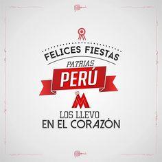 Los quiero PERÚ .. Nos vemos pronto felices fiestas patrias de su servidor #PBDB by maluma